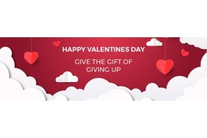 Share your loving guidance with gift of giving up