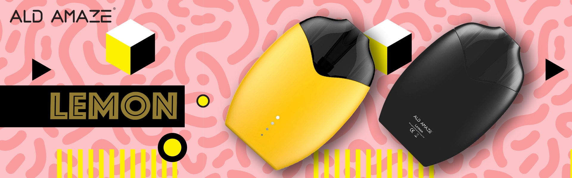ALD Amaze Lemon Pod Device