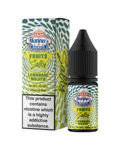 Nanna's Secrets Lemonade Mojito 10ml Nicotine Salt E-Liquid Bottle and Box