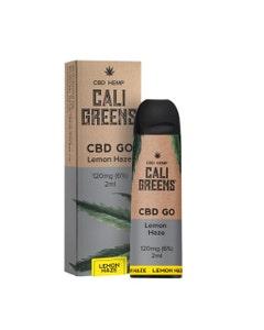 Cali Greens CBD GO Lemon Haze Box and Device