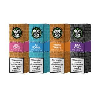 Vape:50 Classic Bundle E-Liquids