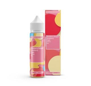 We are Supergood Strawberry Daiquiri Shortfill E-Liquid Bottle and Box