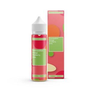 We are Supergood Cosmopolitan Shortfill E-Liquid Bottle and Box