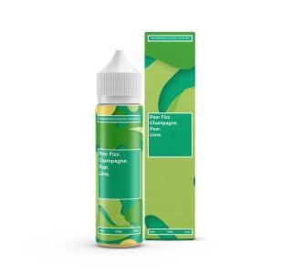 We are Supergood Pear Fizz Shortfill E-Liquid Bottle and Box