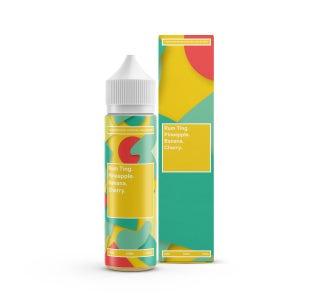 We are Supergood Rum Ting Shortfill E-Liquid Bottle and Box