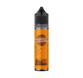Sweet Chemistry Dulce De Leche Brownie 50ml Shortfill E-Liquid Bottle