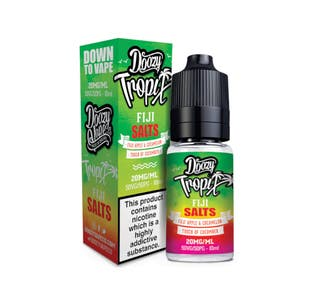 Doozy Tropix Fiji 10ml Nicotine Salt E-Liquid Bottle and Box
