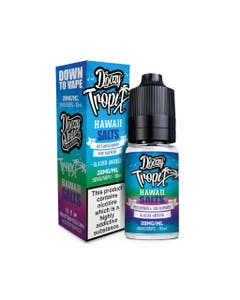 Doozy Tropix Hawaii 10ml Nicotine Salt E-Liquid Bottle and Box