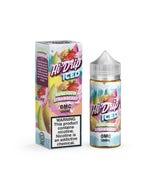 Hi Drip Iced Honeydew Strawberry 100ml Short Fill E-Liquid Bottle and Box