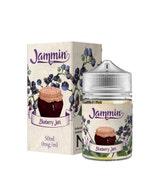 Jammin Blueberry Jam 50ml Short Fill E-Liquid Box and Stubby Bottle