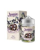 Jammin Blueberry Jam Tart 50ml Short Fill E-Liquid Box and Stubby bottle