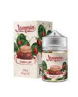Jammin Strawberry Jam 50ml Short Fill E-Liquid Box and Stubby bottle