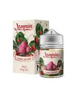 Jammin Strawberry Sorbet 50ml Short Fill E-Liquid Box and Stubby Bottle