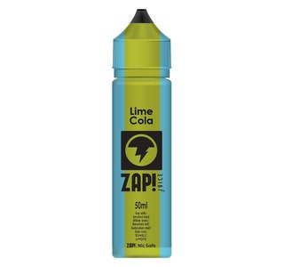 Zap! Lime Cola 50ml Shortfill E-Liquid