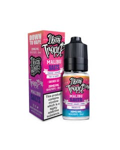 Doozy Tropix Malibu 10ml Nicotine Salt E-Liquid Bottle and Box