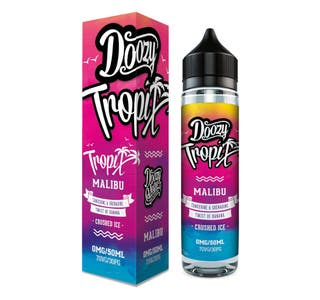 Doozy Tropix Malibu 50ml Shortfill E-Liquid