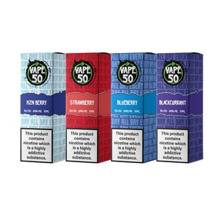 Vape:50 Berries Bundle E-Liquids