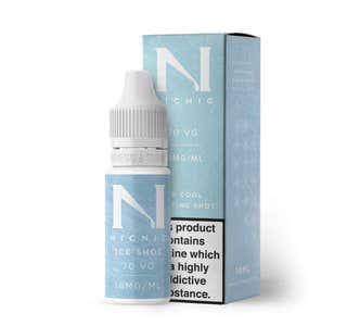 Nic Nic Ice Shot 10ml Nicotine Shot (EN) - 18mg/ml Bottle and Box