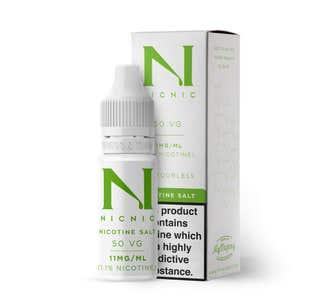 Nic Nic Salt Shot 10ml Nicotine Shot (EN) - 11mg/ml