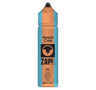 Zap! Peach Cola 50ml Shortfill E-Liquid