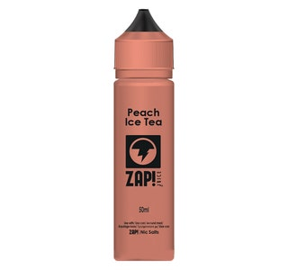 Zap! Peach Iced Tea 50ml Shortfill E-Liquid