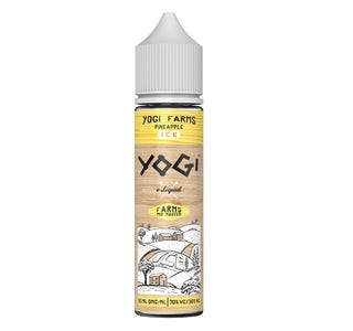 Yogi Farms Pineapple Ice 50ml Shortfill E-Liquid