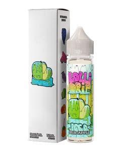 Lollidrip Sour Apple Iced 50ml Short Fill E-Liquid Box and Bottle