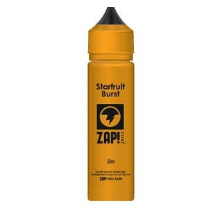 Zap! Starfruit Burst 50ml Shortfill E-Liquid