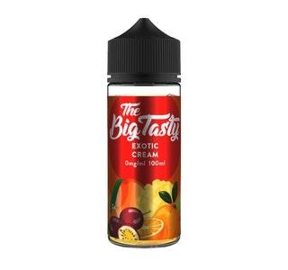 The Big Tasty Exotic Cream 100ml Shortfill E-Liquid