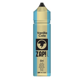 Zap! Vanilla Cola 50ml Shortfill E-Liquid