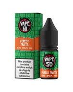 Vape:50 Forest Fruits 10ml E-Liquid