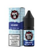 Vape:50 HZN Berry 10ml E-Liquid Bottle and Box