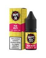 Vape:50 Pear Drops 10ml E-Liquid