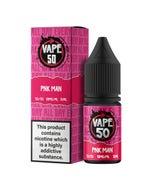 Vape:50 PNK Man 10ml E-Liquid