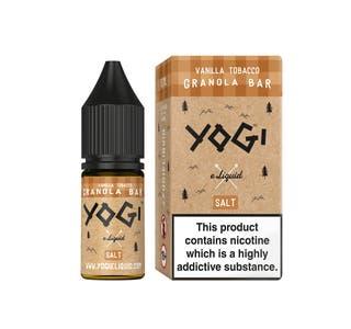 Yogi Granola Vanilla Tobacco 10ml Nicotine Salt E-Liquid (EN)