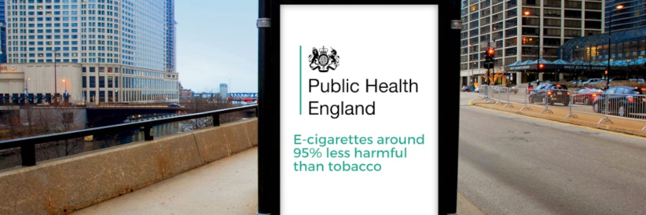Public Health England: Vaping better than Nicotine Therapy