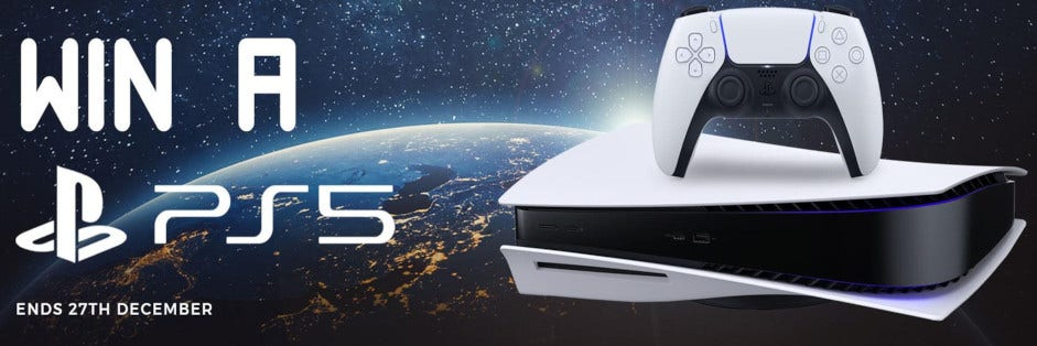 Win a PlayStation 5 Console with My Vapery