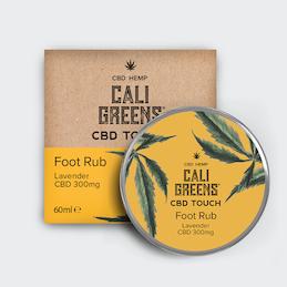 Cali Greens CBD Foot Rub