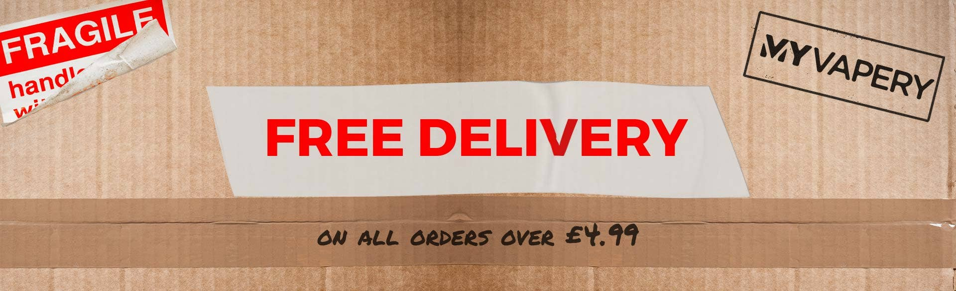 Free Delivery for all orders £4.99