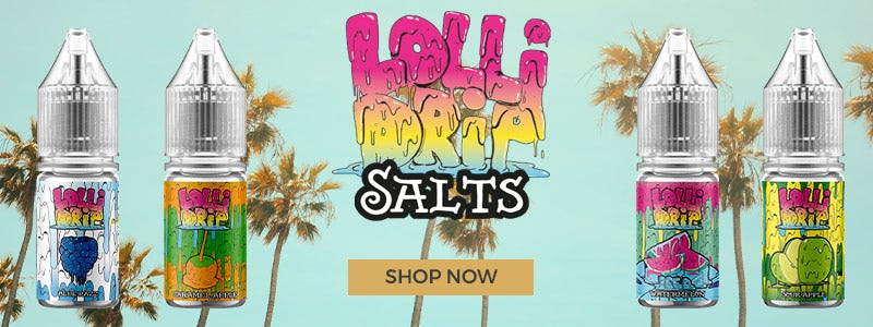 Lollidrip Salts Available now on myvapery.com