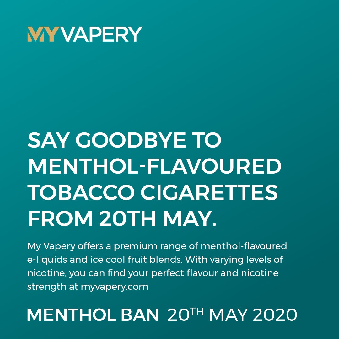 Say Goodbye to Menthol-flavoured tobacco cigarettes from 20th May (Image)