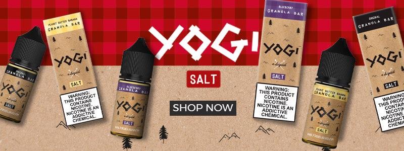 Yogi Nic Salt available at Myvapery